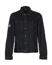 Obey Black Denim Outerwear for men