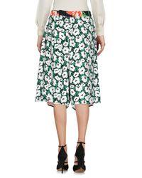 Stella McCartney Black Knee Length Skirt