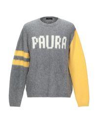 Paura Pullover in Gray für Herren