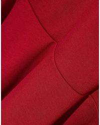 Nicholas Red Kurzes Kleid