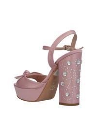 Divine Follie Pink Sandals
