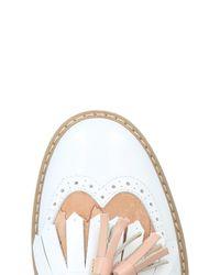 Alviero Martini 1A Classe White Loafers for men