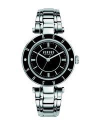 Versus  Black Wrist Watch
