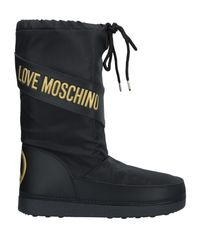 Love Moschino Black Boots