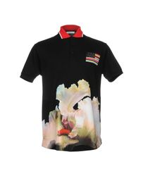 Givenchy Black Polo Shirt for men
