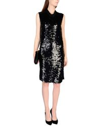 Lanvin Black Knee-length Dress