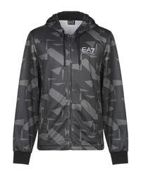 Felpa di EA7 in Gray da Uomo