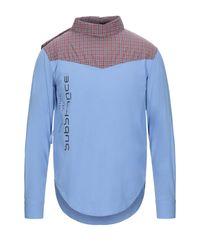 Camisa Raf Simons de hombre de color Blue