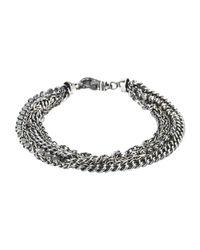 First People First - Metallic Bracelet for Men - Lyst