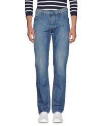 Re-hash Blue Denim Trousers for men
