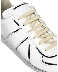 Maison Margiela White Low-tops & Sneakers