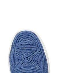 Robert Clergerie Blue Low-tops & Sneakers