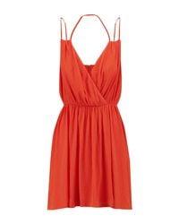 Rebecca Minkoff Orange Short Dress