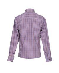 Versace Jeans Purple Shirt for men