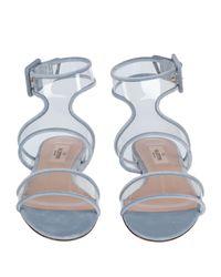 Sandales Valentino Garavani en coloris Blue