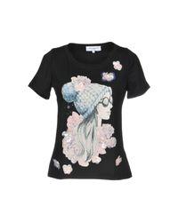 Camiseta Anna Rachele de color Black