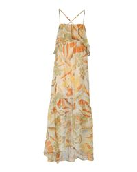 Nolita Orange Long Dress