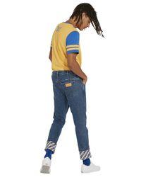 Wrangler T-shirts in Yellow für Herren