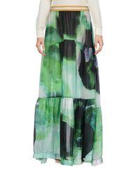 Nolita Green Long Skirt