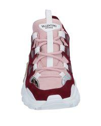 Sneakers & Tennis basses Valentino en coloris Pink