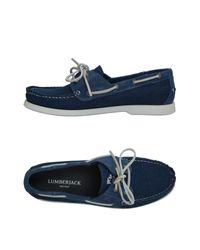 Lumberjack - Blue Loafers for Men - Lyst