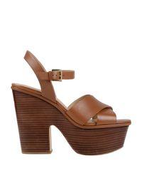 MICHAEL Michael Kors Brown Sandals