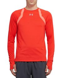 Under Armour Red T-shirt for men