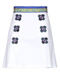 Falda corta Dolce & Gabbana de color White