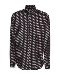 Camicia di 8 by YOOX in Black da Uomo