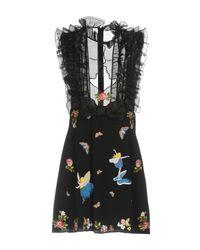 Vivetta Black Short Dress