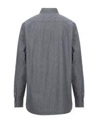 Levi's Gray Denim Shirt for men