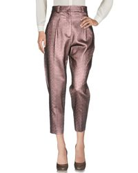 Tara Jarmon Pink Casual Trouser