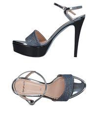 Tipe E Tacchi Blue Sandals