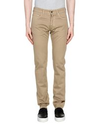 Mauro Grifoni - Natural Casual Pants for Men - Lyst