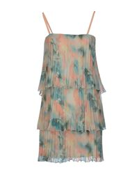 MAX&Co. Green Short Dress