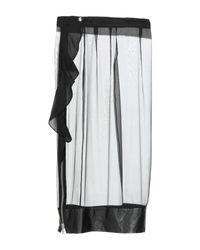 Falda a media pierna Givenchy de color Black
