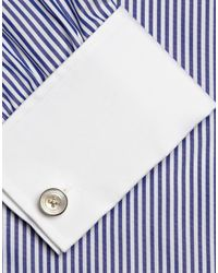 Pinces & boutons de manchette Turnbull & Asser pour homme en coloris White