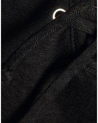 Top di Monrow in Black