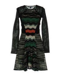 M Missoni Green Short Dress