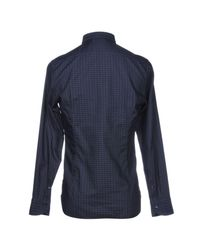 Tintoria Mattei 954 Blue Shirt for men