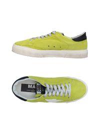 Golden Goose Deluxe Brand Green Low-tops & Sneakers