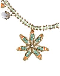 Tataborello - Green Necklace - Lyst
