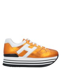 Sneakers & Tennis shoes basse di Hogan in Orange