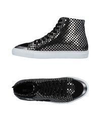 Just Cavalli High Sneakers & Tennisschuhe in Metallic für Herren