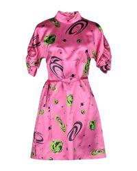 Vestito corto di Miu Miu in Pink