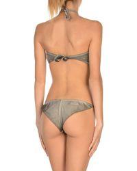 Agogoa - Gray Bikini - Lyst