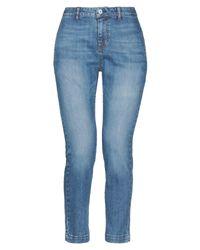 Nili Lotan Blue Denim Trousers