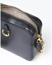 Lauren by Ralph Lauren Black Cross-body Bag