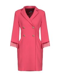 Elisabetta Franchi Red Overcoat