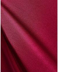 Vestito lungo di Halston Heritage in Red
